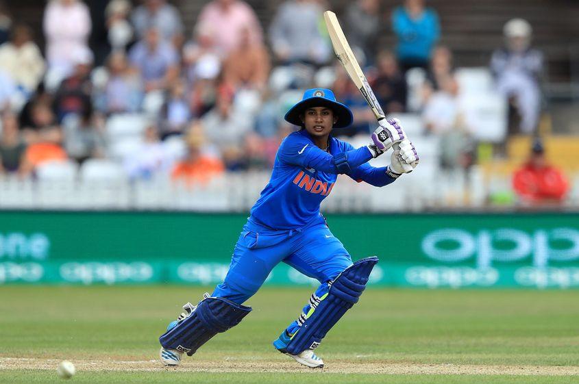 Mithali Raj registered her 53rd ODI fifty