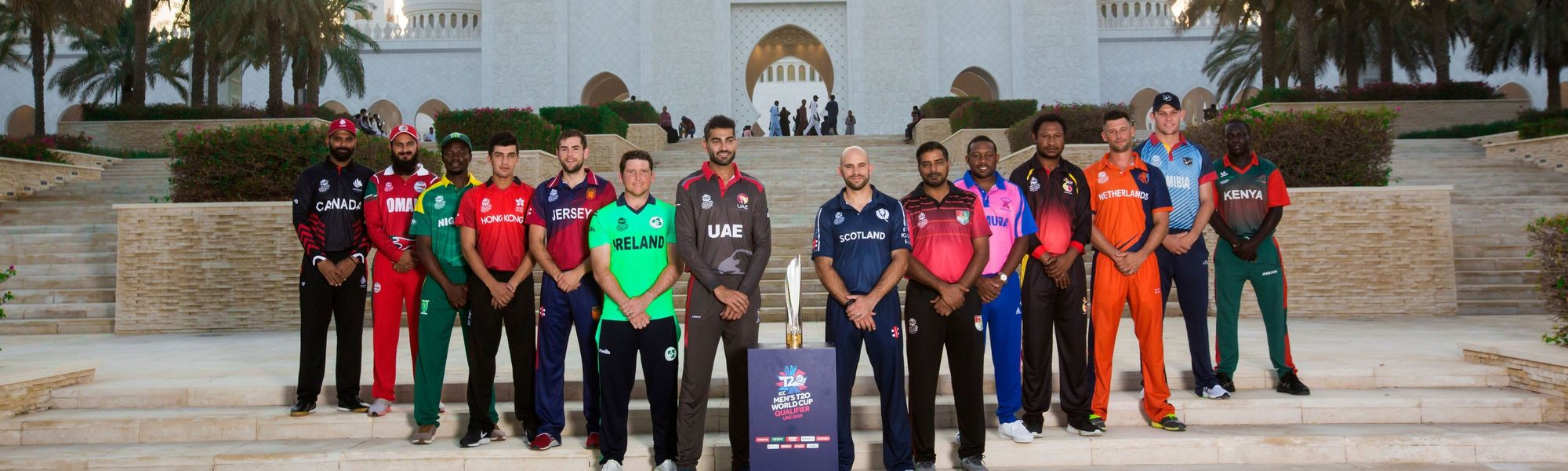 T20WC Qualifier captains