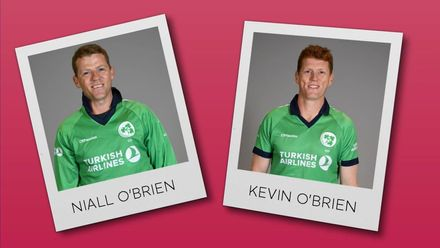 Perfect Pairs: Ireland's O'Brien brothers, Niall and Kevin