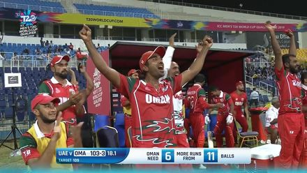 T20WCQ: Oma v UAE – Highlights of Oman's seven-wicket win