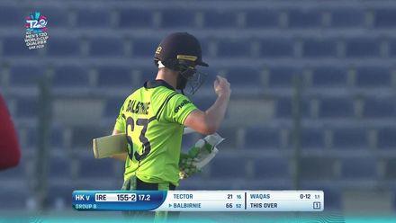 T20WCQ: HK v Ire: Balbirnie hits the winning runs
