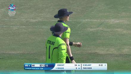 T20WCQ: HK v Ire –Waqas Barkat falls for nine