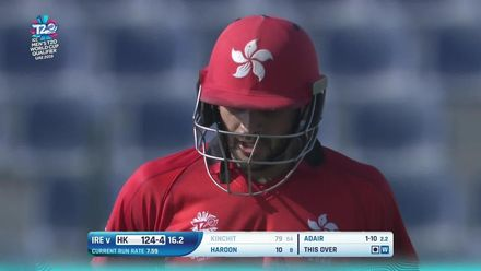 T20WCQ: HK v Ire –Kinchit falls for a superb 79
