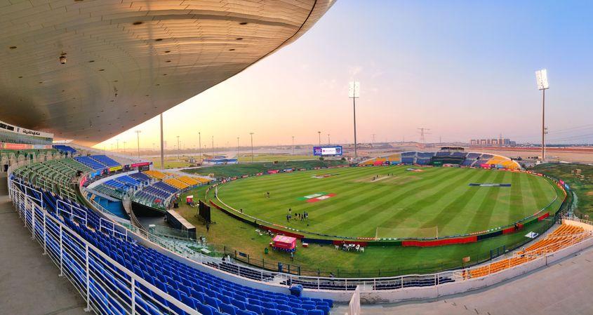 Sheikh Zayed Cricket Stadium, Abu Dhabi - General view