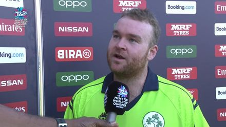 T20WCQ: HK v Ire: Stirling wins Player of the Match award