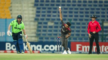 UAE v Ireland, 9th Match, Group B, ICC Men's T20 World Cup Qualifier at Abu Dhabi, Oct 19 2019.