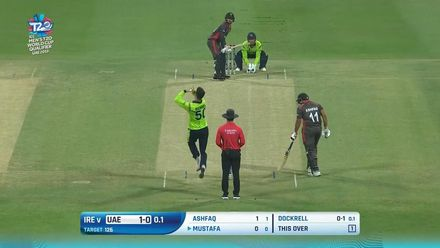 T20WCQ: IRE v UAE – Flurry of boundaries from Rohan Mustafa