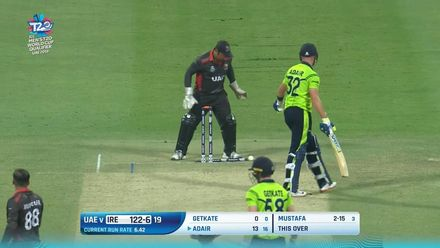 T20WCQ: IRE v UAE – Ireland lose four wickets in the last over