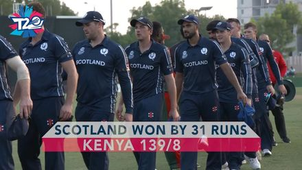 T20WCQ: SCO v KEN – Highlights from Scotland's first win