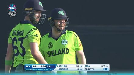 T20WCQ: HK v Ire – Highlights of Stirling's half-century