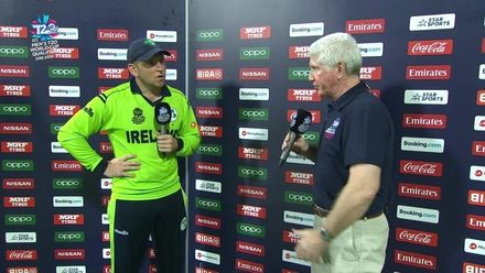 T20WCQ: IRE v UAE – Post-match presentation