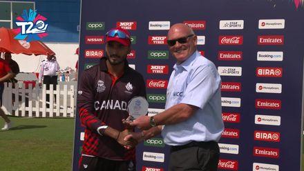 T20WCQ: CAN v JSY – Nitish Kumar: 'I took a few risks, it paid off'