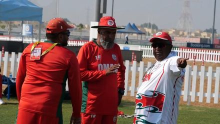 T20WCQ: Oman – At The Nets