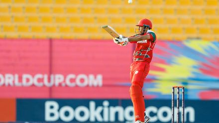 Hong Kong v Oman, 13th Match, Group B, ICC Men's T20 World Cup Qualifier at Abu Dhabi, Oct 20 2019