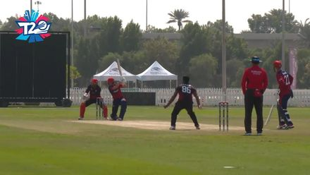 T20WCQ: JSY v CAN – Jonty Jenner slaps one through the covers