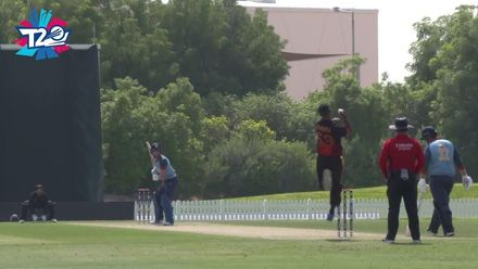 T20WCQ: PNG v Nam – Highlights of PNG's 81-run win over Namibia