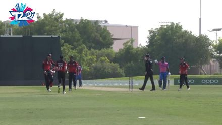 T20WCQ: BER v SIN – Amjad has Bascome caught