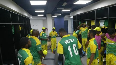 T20WCQ: CAN v NGR – Nigeria pre-match dressing room ritual