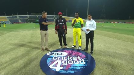 T20WCQ: CAN v NGR – Toss and pre-match interviews