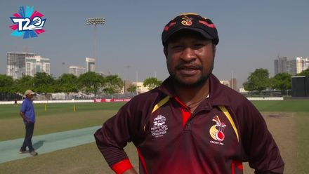 T20WCQ: Sco v PNG – toss and pre-match interviews