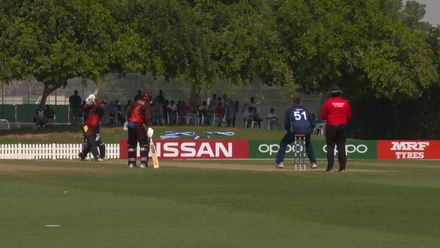 T20WCQ: Sco v PNG: Assad Vala hits back-to-back sixes in the first over