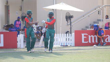 Bermuda v Kenya, 17th Match, Group A, ICC Men's T20 World Cup Qualifier at Dubai, Oct 21 2019.