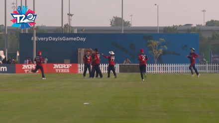 T20WCQ: UAE v JSY – Back-to-back wickets for Ben Stevens