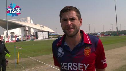 T20WCQ: UAE v JSY – Captains' interview after toss