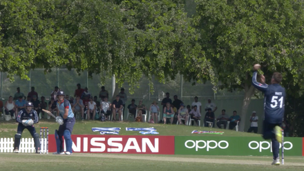 T20WCQ: Sco v Nam – Erasmus hits 10 in two balls