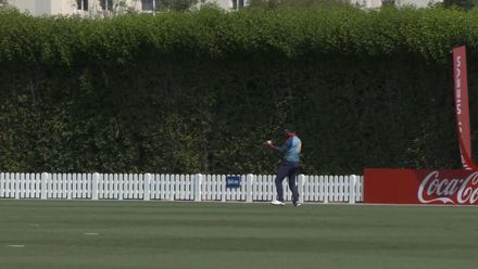 T20WCQ: Sco v Nam – Frylinck takes an excellent catch to dismiss Berrington