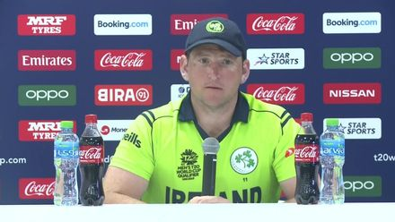 T20WCQ: IRE v CAN – Gary Wilson: 'We're in must-win territory now'