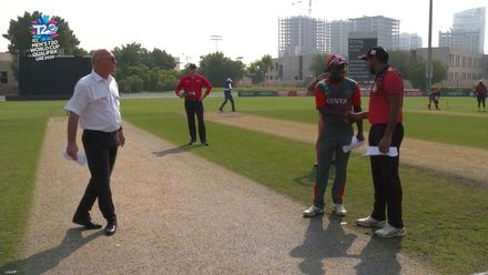 T20WCQ: SIN v KEN – Captains speak after the toss