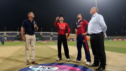 Hong Kong v Jersey, 26th Match, Group B, ICC Men's T20 World Cup Qualifier at Abu Dhabi, Oct 23 2019