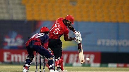 Hong Kong v Jersey, 26th Match, Group B, ICC Men's T20 World Cup Qualifier at Abu Dhabi, Oct 23 2019