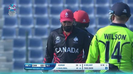 T20WCQ: IRE v CAN – Highlights of Dhaliwal's 69 off 51 balls