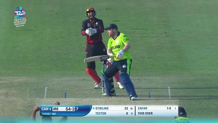T20WCQ: IRE v CAN – Ireland lose two big wickets