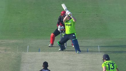 T20WCQ: IRE v CAN – How the Ireland wickets fell