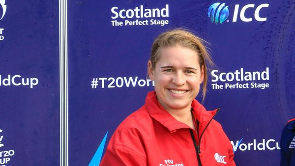 Umpire Lauren Agenbag makes history in South Africa