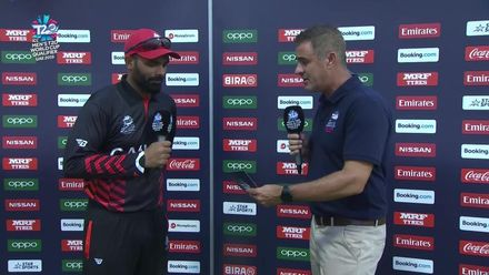 T20WCQ: IRE v CAN – Post-match presentation