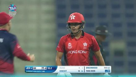 T20WCQ: HK v JSY – Hong Kong wickets