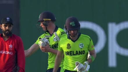 T20WCQ: Ire v Can – Andy Balbirnie, Ireland's Rolls-Royce