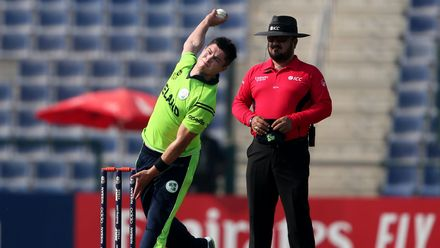 Canada v Ireland, 25th Match, Group B, ICC Men's T20 World Cup Qualifier at Abu Dhabi, Oct 23 2019