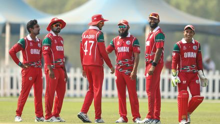 Nigeria v Oman, 23rd Match, Group B, ICC Men's T20 World Cup Qualifier at Abu Dhabi, Oct 23 2019