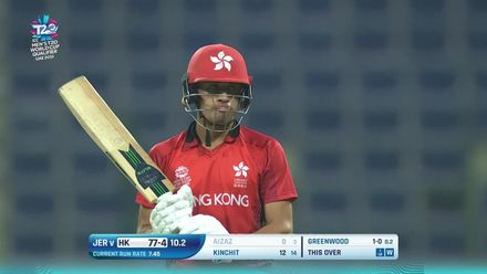 T20WCQ: HK v JSY – Greenwood delighted after Aizaz wicket