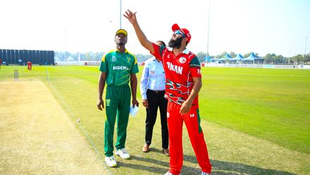 Nigeria v Oman, 23rd Match, Group B, ICC Men's T20 World Cup Qualifier at Abu Dhabi, Oct 23 2019