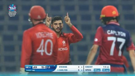 T20WCQ: HK v JSY – Hong Kong get off the mark with nervy eight-run win