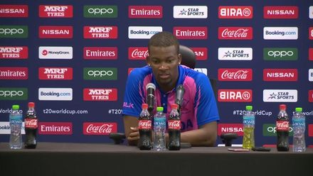 T20WCQ: SCO v BER – Delray Rawlins: 'It's been a tough tournament for us'