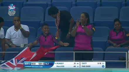 T20WCQ: SCO v BER – Munsey falls after fifty
