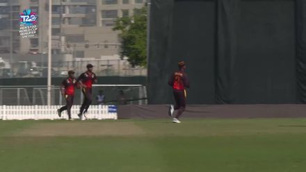 T20WCQ: NED v PNG – O'Dowd is caught at mid-on