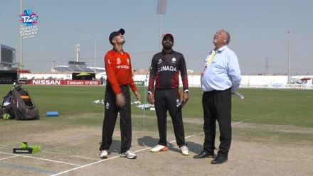 T20WCQ: HK v CAN – Toss